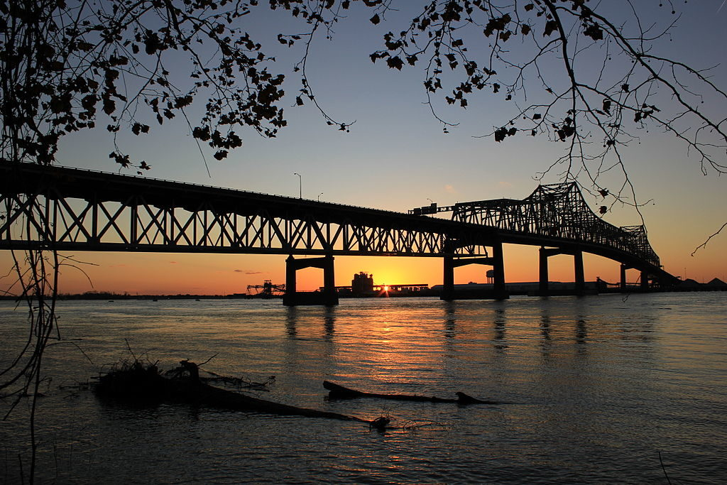 Mississippi River Bridge at Baton Rouge
